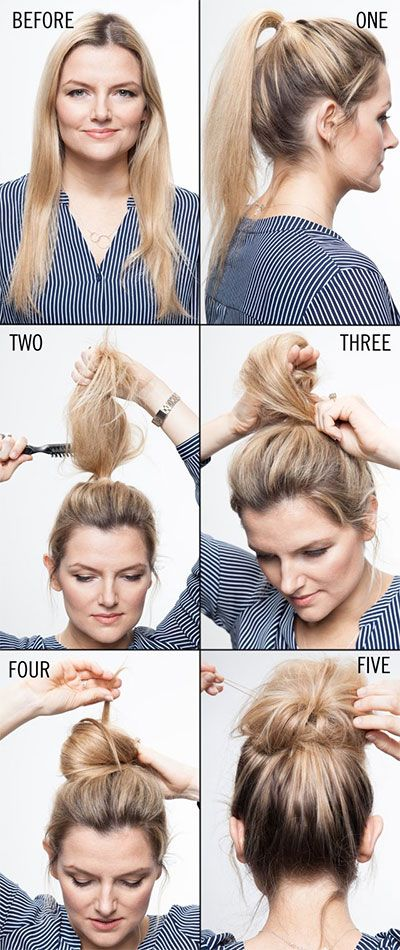16 Easy Updo Hair Tutorials for the Season - Pretty Desig