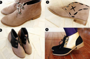 10 Easy Ways to Have Your DIY Shoes – Dress&Designs #diy .