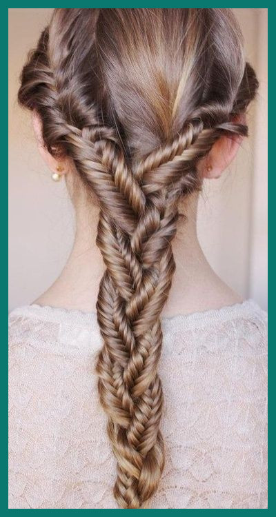 Pretty Hairstyles Braids 23230 17 Sweet & Exquisite Braided .
