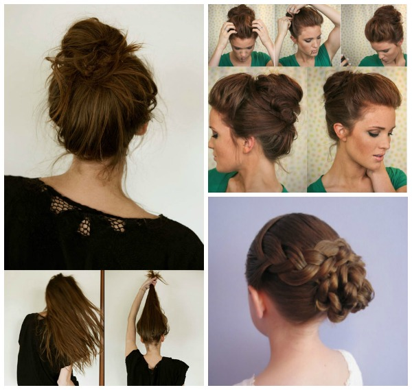 Wonderful 13 Simple Bun Hairstyl