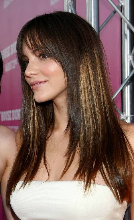 10 Fabulous Long Hairstyles with Bangs and Layers - Pretty Desig