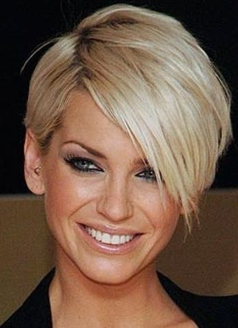 Short hair style | Thick hair styles, Short hairstyles for thick ha