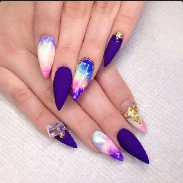 Fabulous Summer Stiletto Nail Designs That Will Steal The Show .