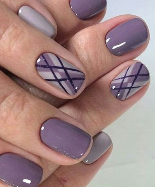 Fabulous Purple Ombre Nail Art Designs | Purple ombre nails .