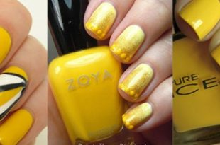 Simple yellow nailsFabulous Nail Art Designs | Fabulous Nail Art .