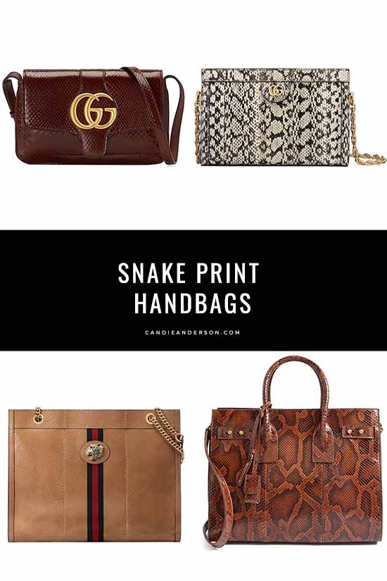 20 Trendy Snake Print Handbags That Are A Must For Fall 2019 .