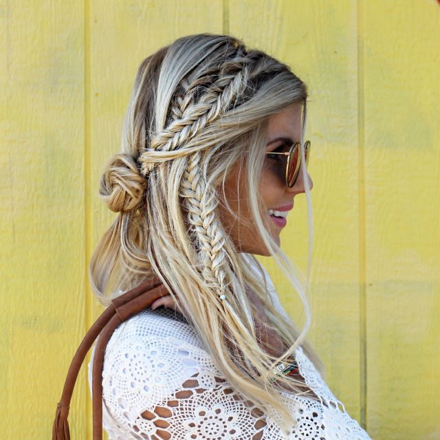 28 Fancy Braided Hairstyles for Long Ha