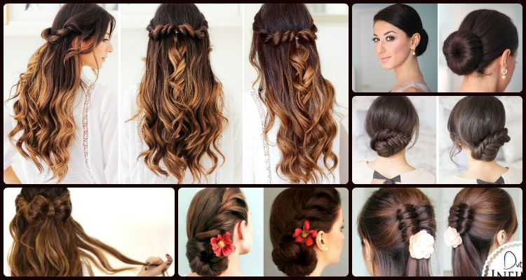 6 Elegant And Easy Updo And Half Updo Hairstyles That Can Never Go .