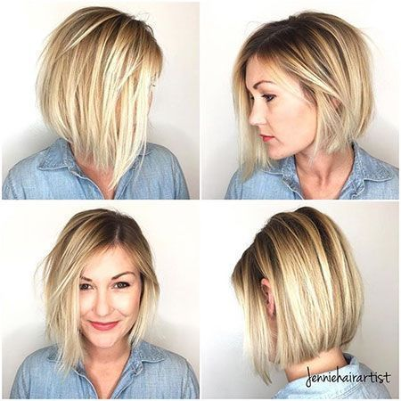 21+ Best Bob Haircuts for Fine Hair 2018 – 2019 | Bob haircut for .