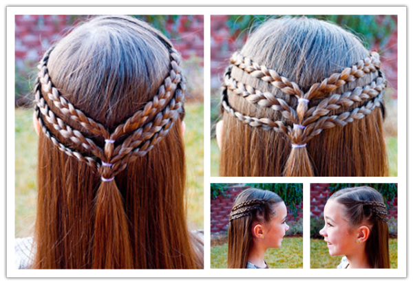 8 Fantastic Princess Hairstyles for Your Sweet