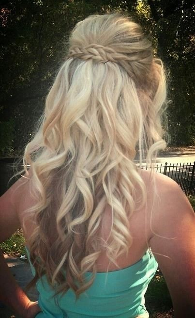 Women Hairstyle 2016: Prom Hairstyle for Long Curly Hair Fantastic .