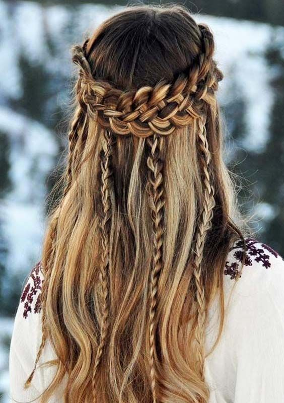 40 Fantastic Hairstyles for Holiday Season in 2018 | Cool braid .