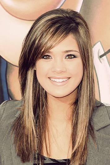 12 Fantastic Long Hairstyles With Bangs - Pretty Designs - Fashion .