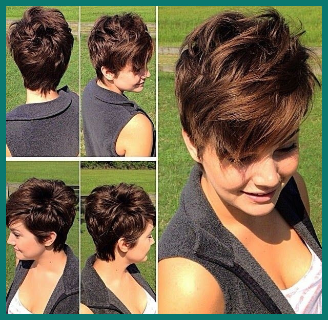 Short Hairstyles for Thick Wavy Hair 48235 22 Fantastic Layered .