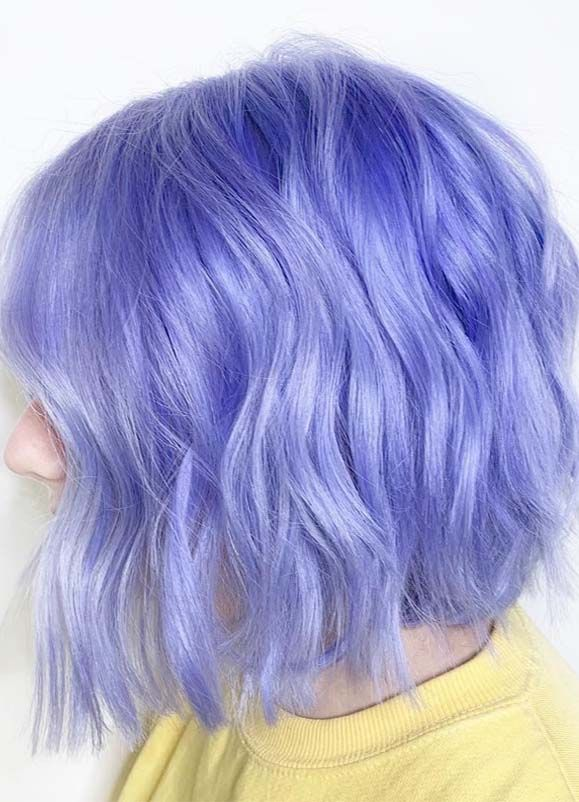 Fantastic Purple Bob Haircuts for Women in 2019 | Dyed Hair .