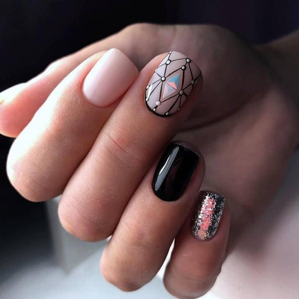 The most fashionable manicure 2019-2020: top new manicure, trends .