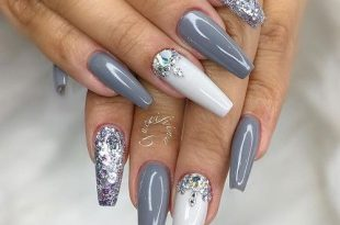 15 Trending Nail Ideas That Are Beautiful | Coffin nails long .