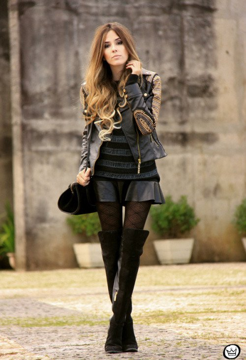 Fashionable Outfits with Over-knee Boo