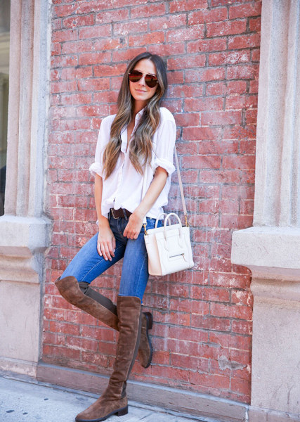 How to Wear Over-the-Knee Boots | StyleCast