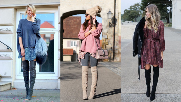 20 Different Ways to Wear Over-the-Knee Boots, No Matter Your Styl