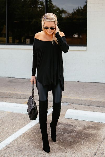 Fashionable Outfits with Over-knee Boots