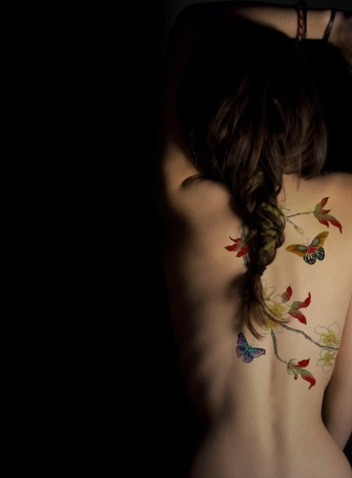 14 Fashoiable and Special Tattoo Designs Inspired by Nature .