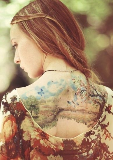 14 Fashoiable and special tattoo designs inspired by nature | Doğa .