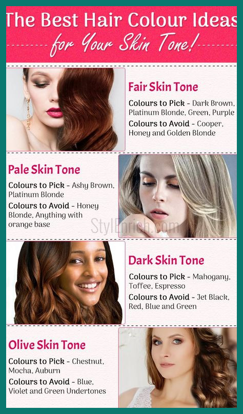 Find Right Hair Color 433521 Hair Colors for Your Skin tone Best .