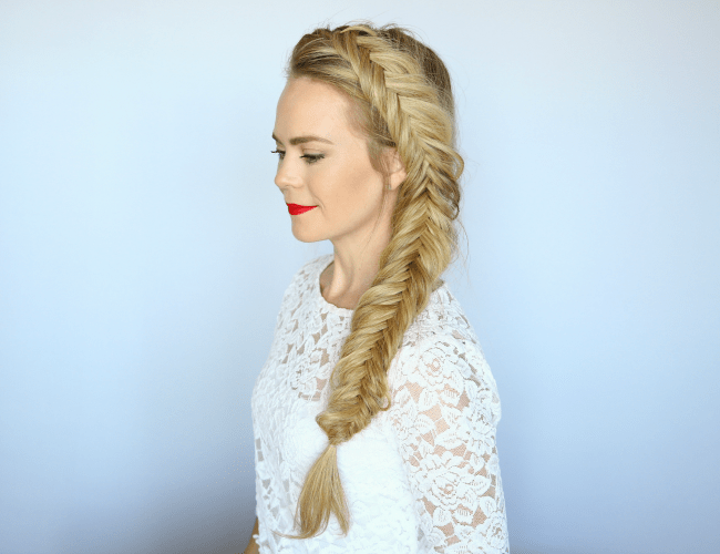 How to Dutch Fishtail Braid | MISSY S