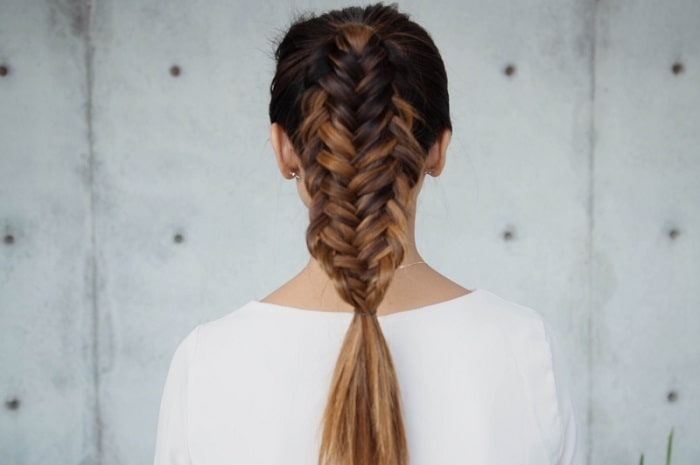 10 Trendiest Double Fishtail Braids in 2020 – HairstyleCa