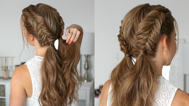 Double Dutch Fishtail Braids | MISSY S
