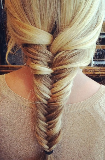 Fishtail Braid - Hairstyles Week