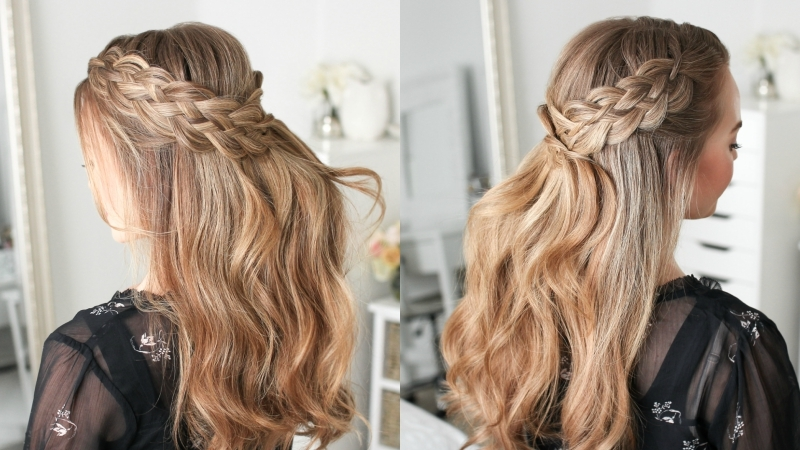 Half Up Five Strand Braid | MISSY S