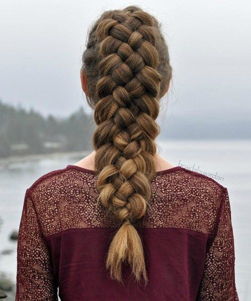20 Great 5 Strand Braid Hairstyles Worth Mastering | Medium hair .