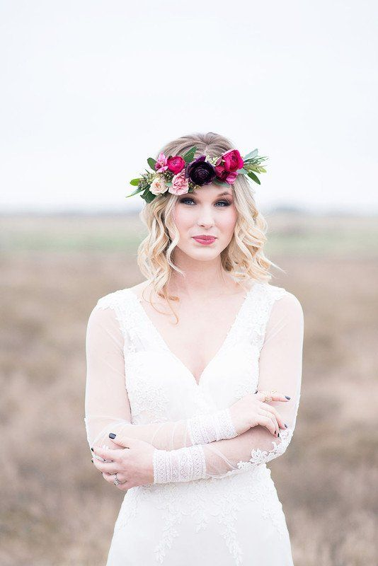 Floral Crown Hairstyle Ideas