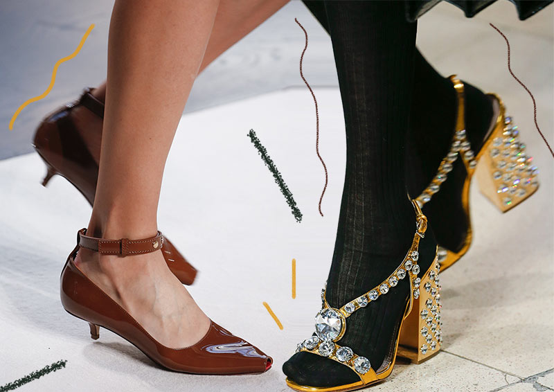 Spring/ Summer 2019 Shoe Trends: Spring 2019 Runway Shoes, Sanda