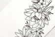 55 Simple Small Flowers Tattoos Drawing Tattoos Ideas For Women .