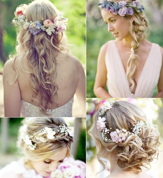 15 Top Wedding Hairstyles With Flowers - Wedding Flowers 4 Le
