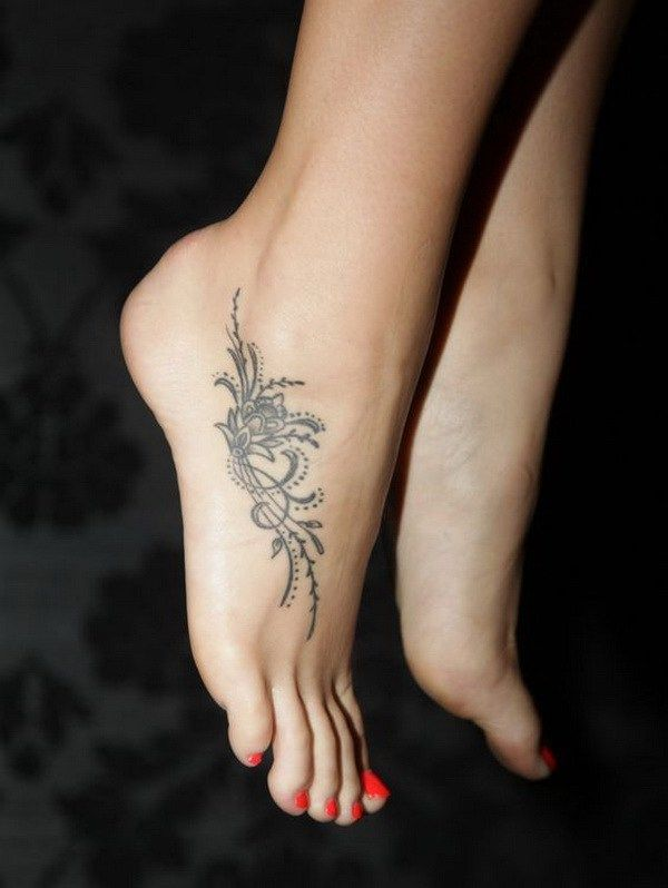 Foot Tattoo Designs for Women