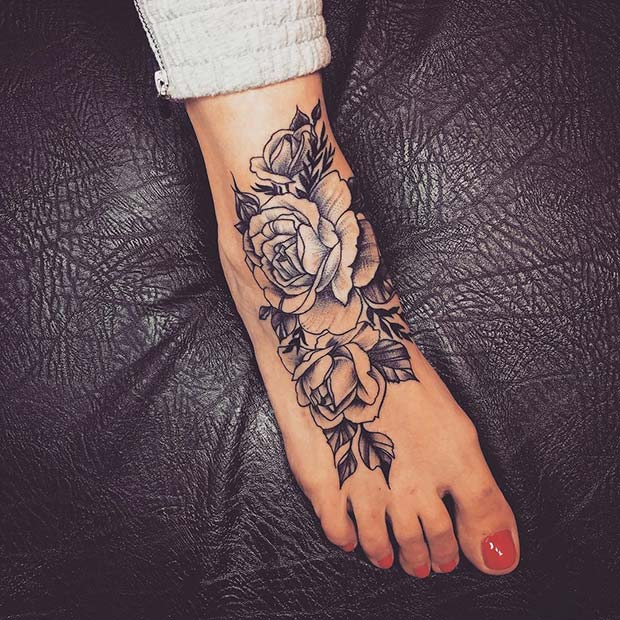 45 Awesome Foot Tattoos for Women | Page 2 of 4 | StayGl