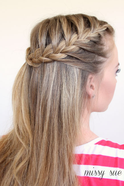 18 Cute French Braid Hairstyles for Girls - Pretty Desig