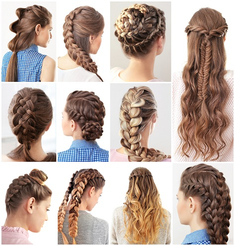 15 Cute and Easy French Braid Hairstyles You Need to Try | Styels .
