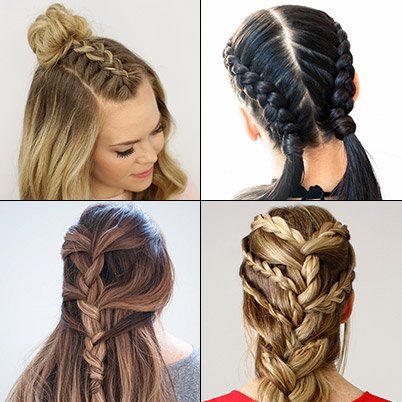 French Braid Hairstyles - How to French Bra