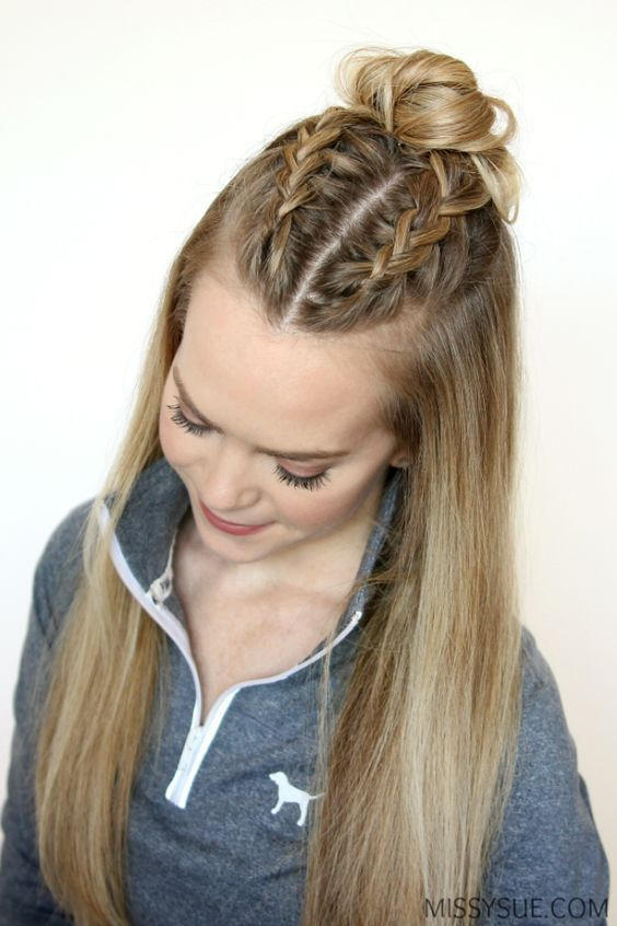 Top 50 French Braid Hairstyles You Will Love | Thick hair styles .