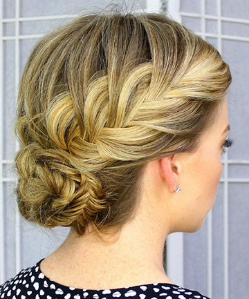 Half Up French Braid Crown , 25 Pretty French Braid Hairstyles to .