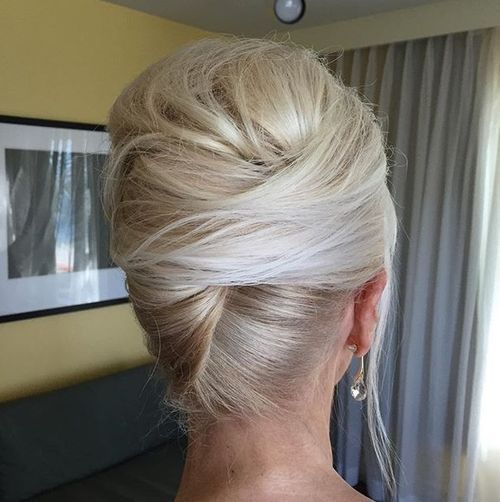 50 Stylish French Twist Updos | French twist hair, Mother of the .