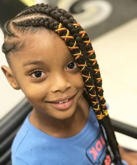 20 Cool Braided Hairstyles for Girls | Kids braided hairstyles .