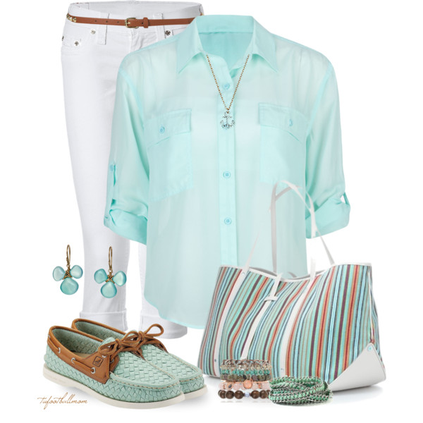 15 Fresh Spring Polyvore Combinations in Popular Mint - Pretty Desig