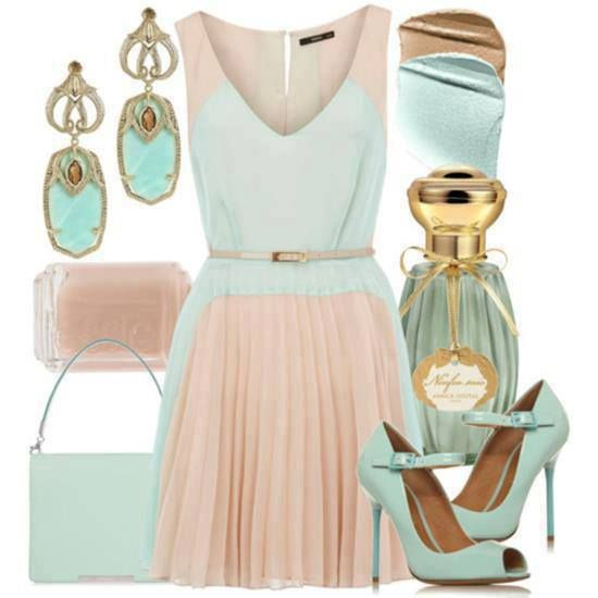 15 Fresh Spring Polyvore Combinations in Popular Mint | Home .