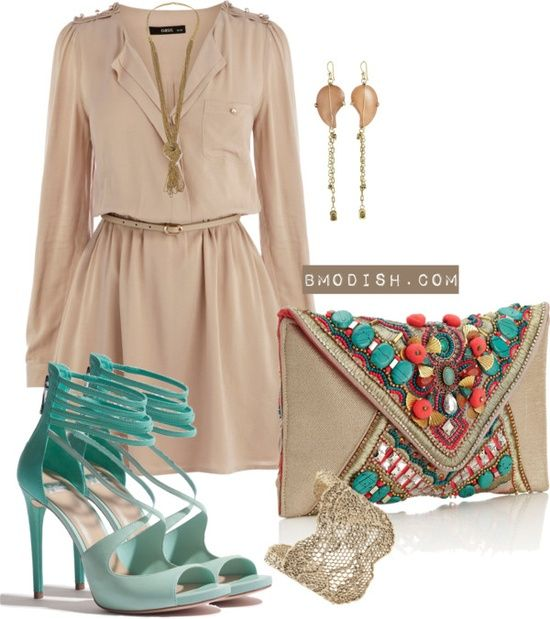 15 Fresh Spring Polyvore Combinations in Popular Mint (With images .